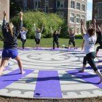 Namaste on Campus: Yoga Service at Nazareth College ~ Lauren Devine
